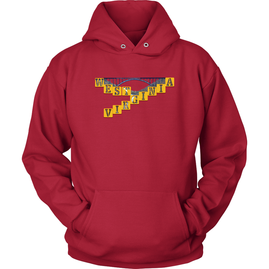 Unisex Hoodie: West Virginia