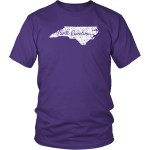 District Unisex Shirt: North Carolina Vintage