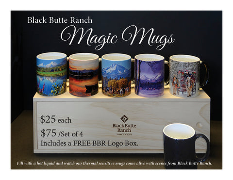 Black Butte Ranch Magic Mugs