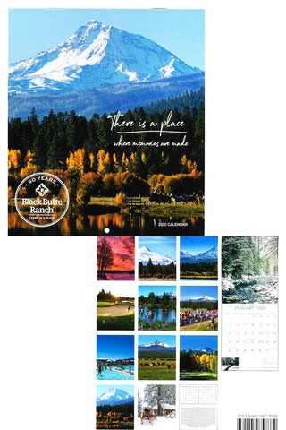 Black Butte Ranch 50th Anniversary Calendar
