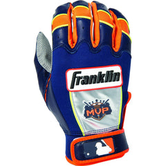Franklin Miguel Cabrera MVP Limited Edition Batting Gloves (Navy/Orange)