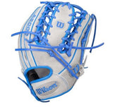 "Wilson A2000 Limited Edition 11.5"" - Gray/Blue"