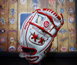 "Wilson A2000 Limited Edition 11.5"" Baseball Glove 1786 - White/Red"