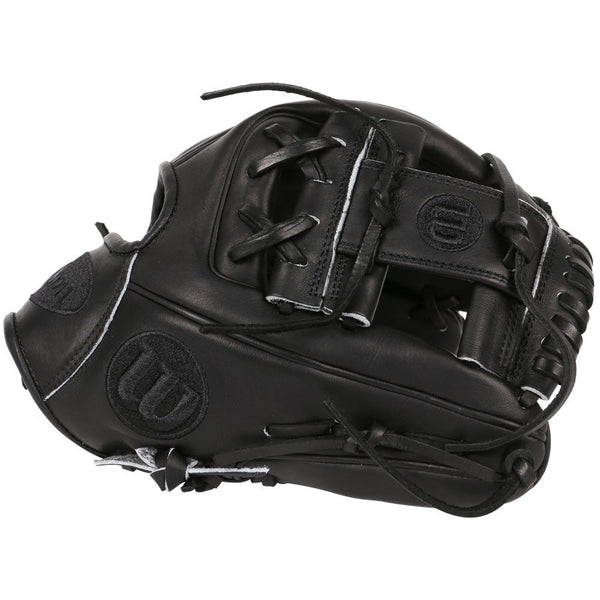 "Wilson A2000 DP15 11.5"" Limited Edition Baseball Glove - All Black"