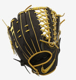 "Nike ShaDo Pro Limited Edition Outfield Glove 12.5"" - Black/Yellow"