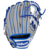"Wilson A2000 DP15 11.5"" Limited Edition Baseball Glove - Gray/White/Blue"