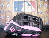 Wilson A2000 Limited Edition Outfield Glove - Breast Cancer Glove of the Month
