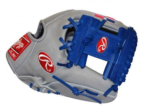 "Rawlings PRO202 Limited Edition Heart of the Hide Dominican Republic 11.5"" Glove - Grey/Blue"