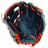 Wilson A2000 January Glove of the Month - Navy/Orange