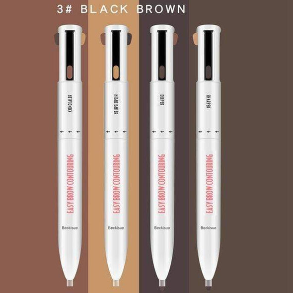 NextgenHype 4 in 1 Eyebrow Pencil