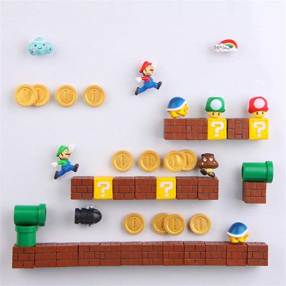 Super Mario Magnet For Fridge - NextgenHype