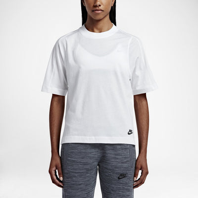 NIKE WOMENS BONDED TOP