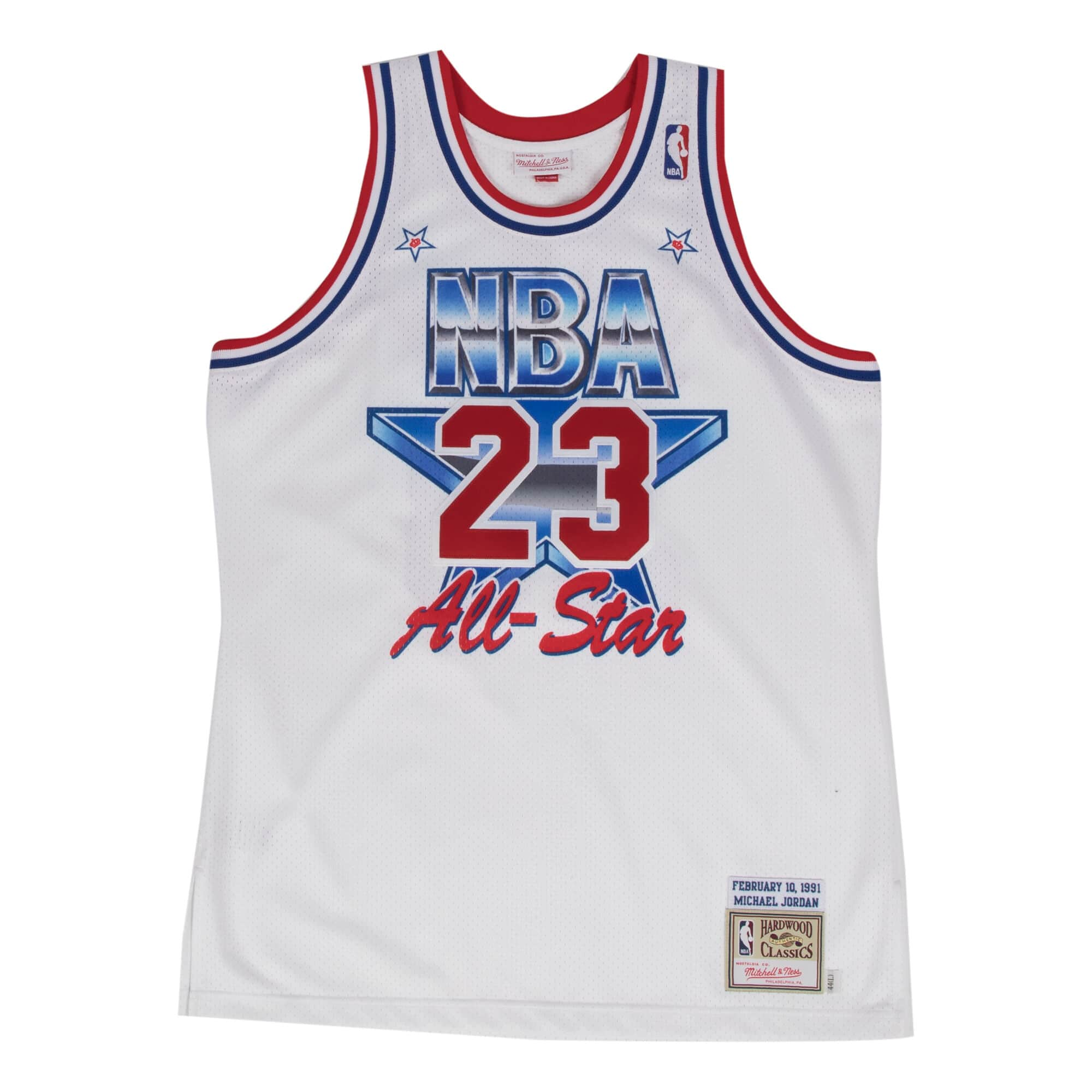 lowest price 63e42 b060a MITCHELL & NESS NBA ALL STAR EAST JERSEY 91 MICHAEL JORDAN