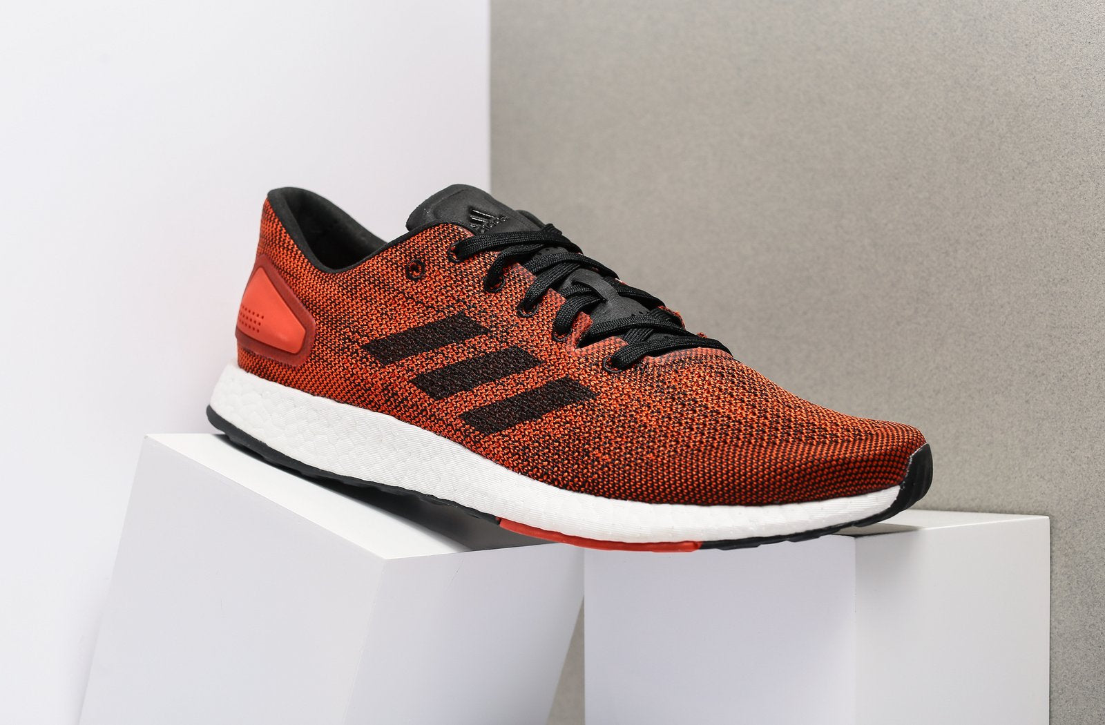 f7100a692cef39 adidas pure boost dpr cheap black white and orange shoes