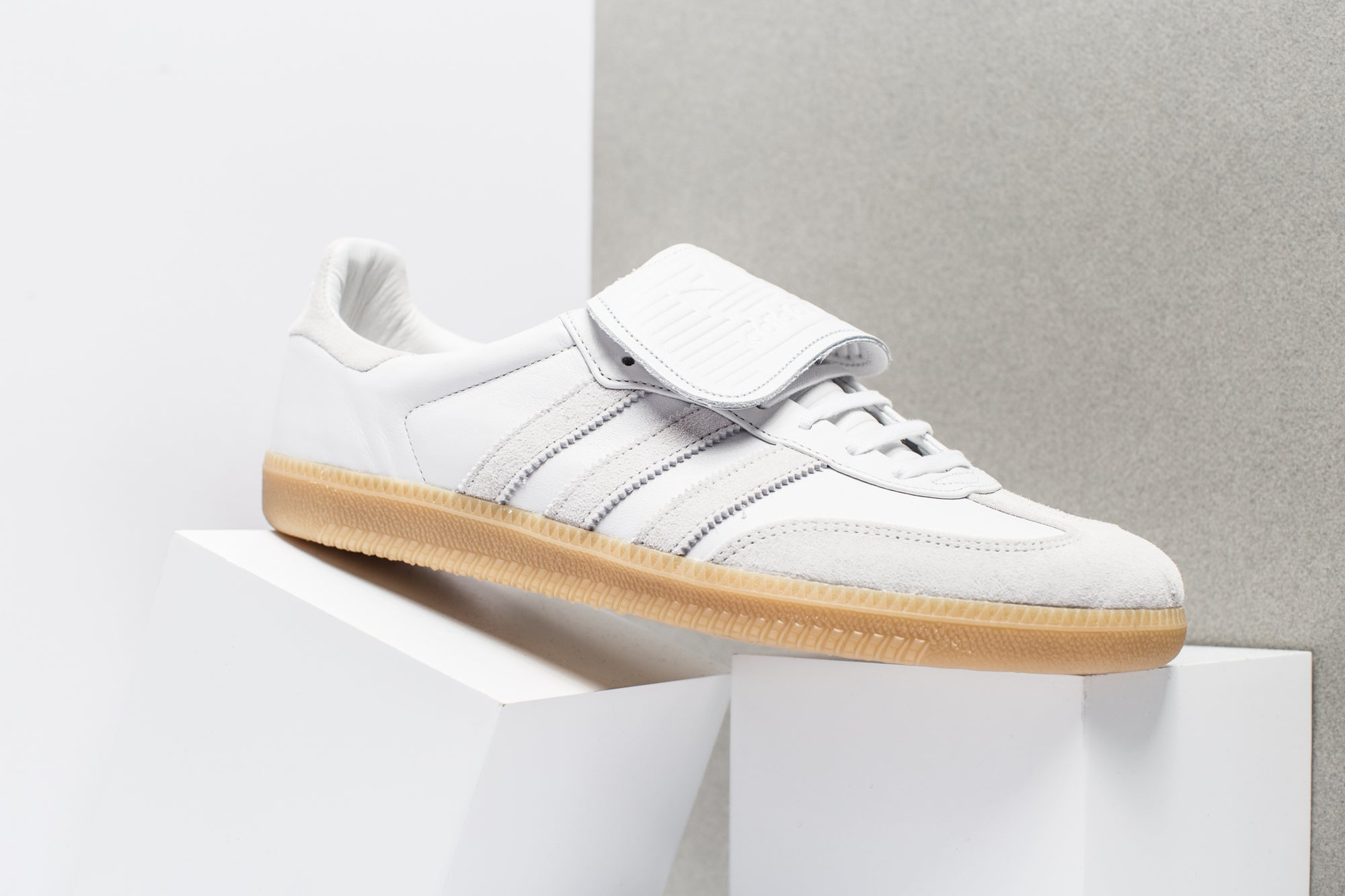The adidas Samba Recon LT In Core Black And Crystal White