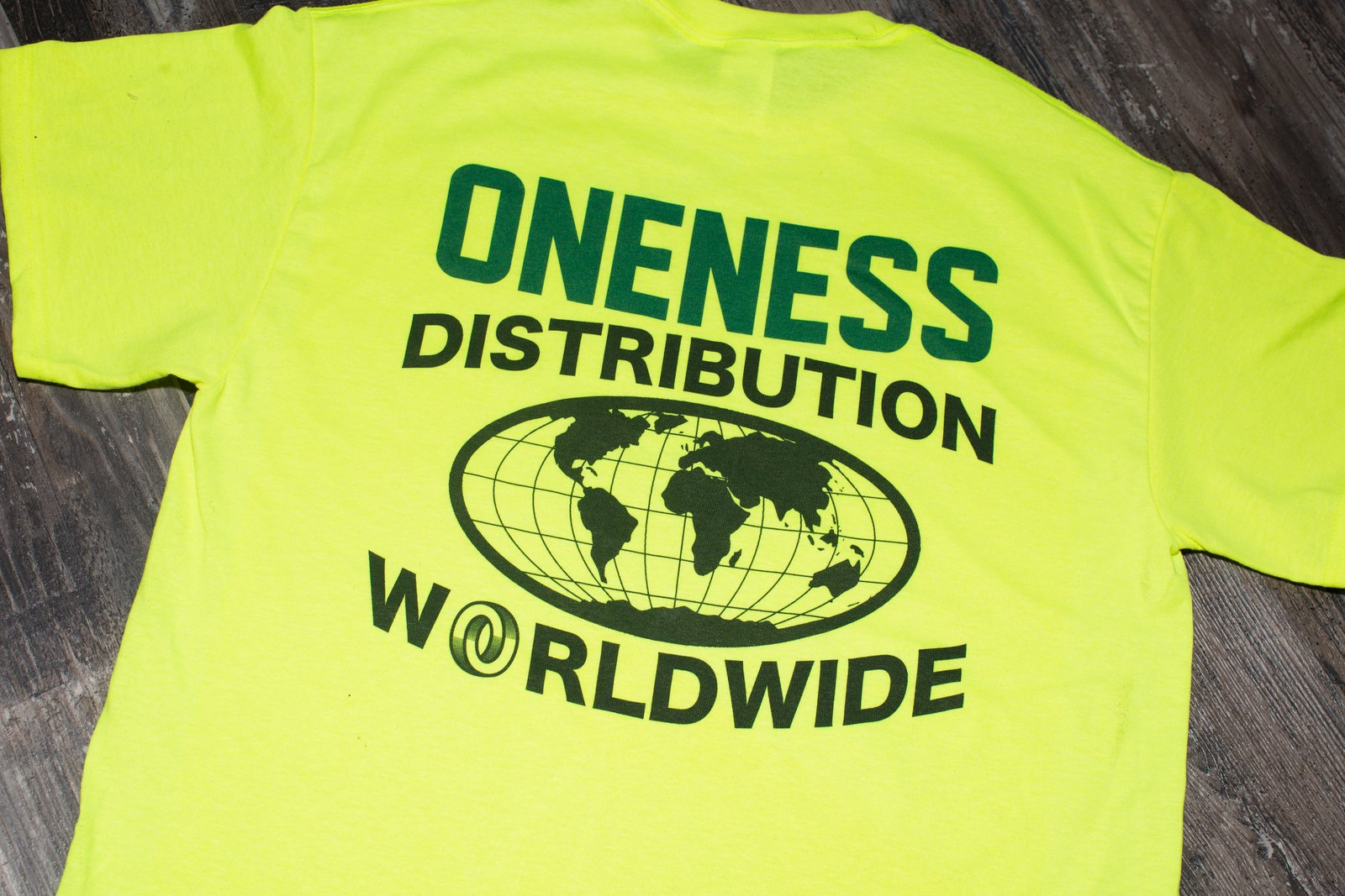 ONENESS WORLDWIDE DISTRIBUTION SHIRT