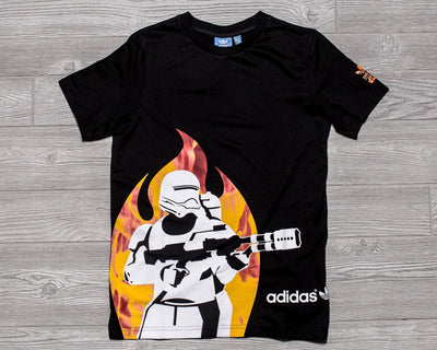 ADIDAS Junior Star Wars TEE FLAME