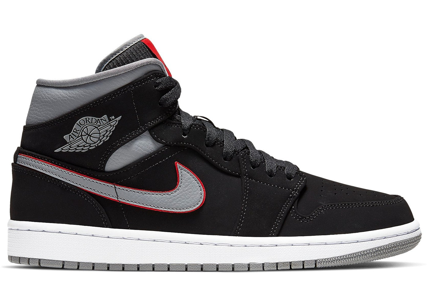 Air Jordan 1 Mid 'Black Grey'