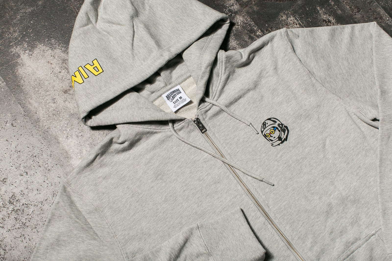 BILLIONAIRE BOYS CLUB KNOCKOUT ZIP UP HOODIE x HEBRU