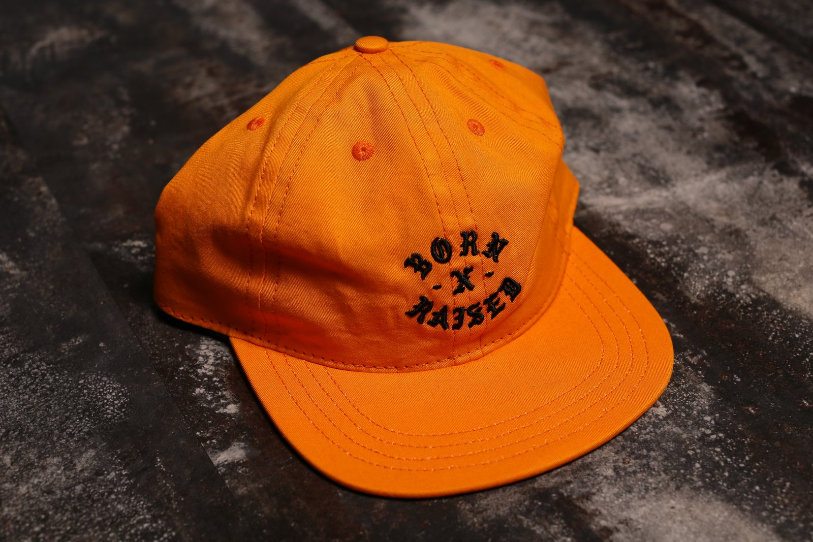 BORN x RAISED ROCKER STRAPBACK