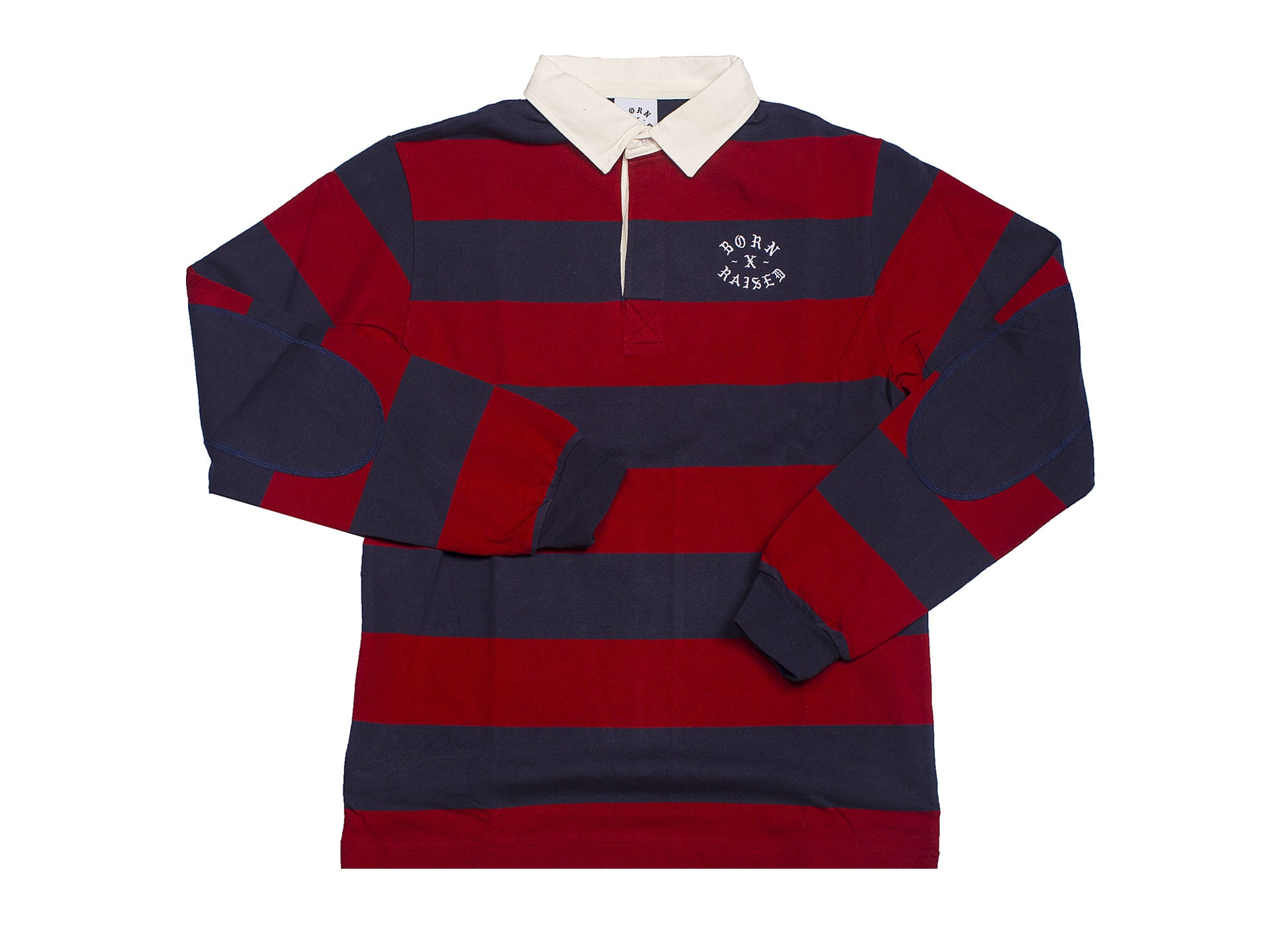 BORN x RAISED RUGBY LS SHIRT