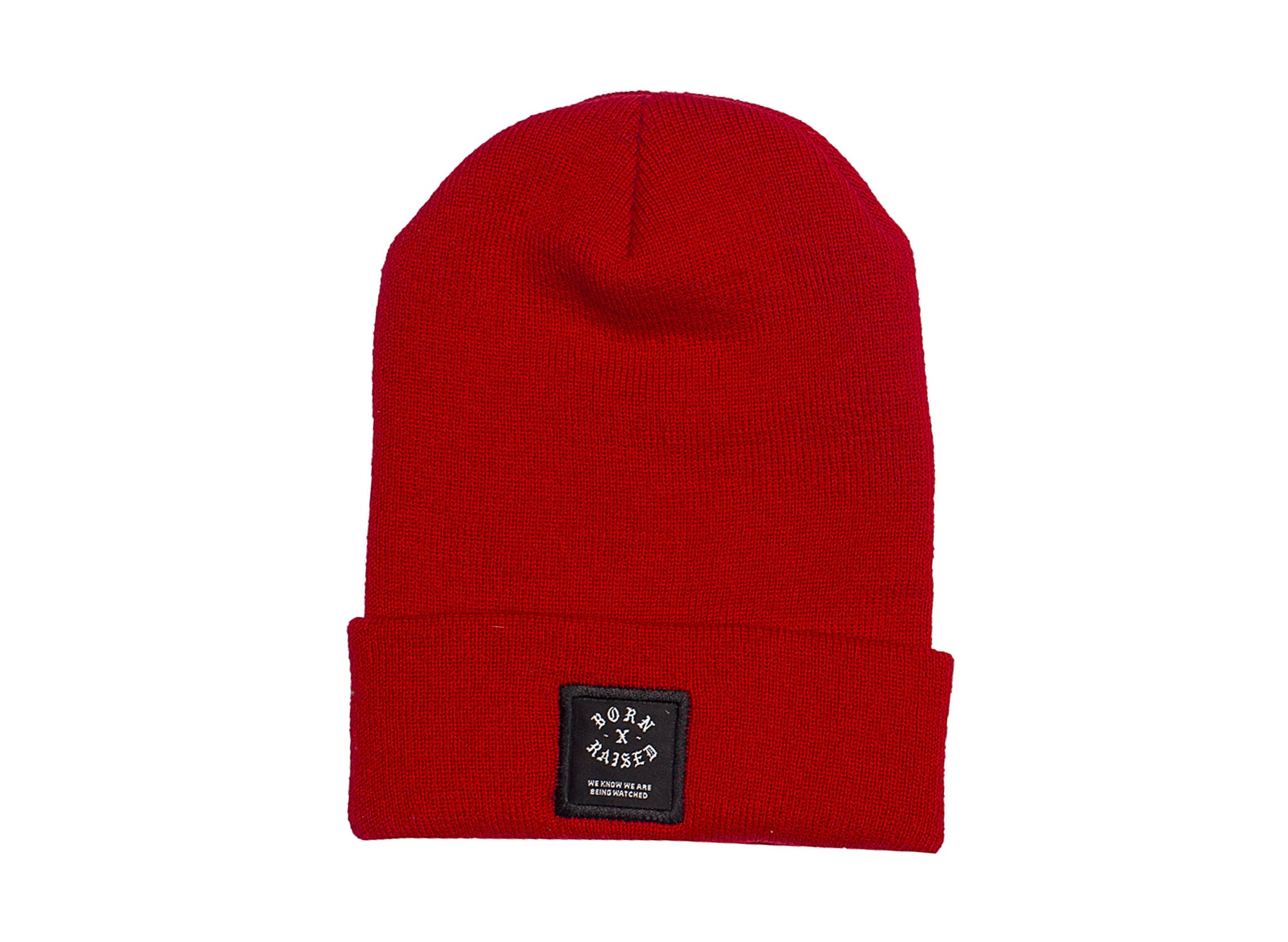 BORN x RAISED LABEL BEANIE