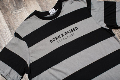 BORN x RAISED CHARLIE BROWN S/S CREW NK