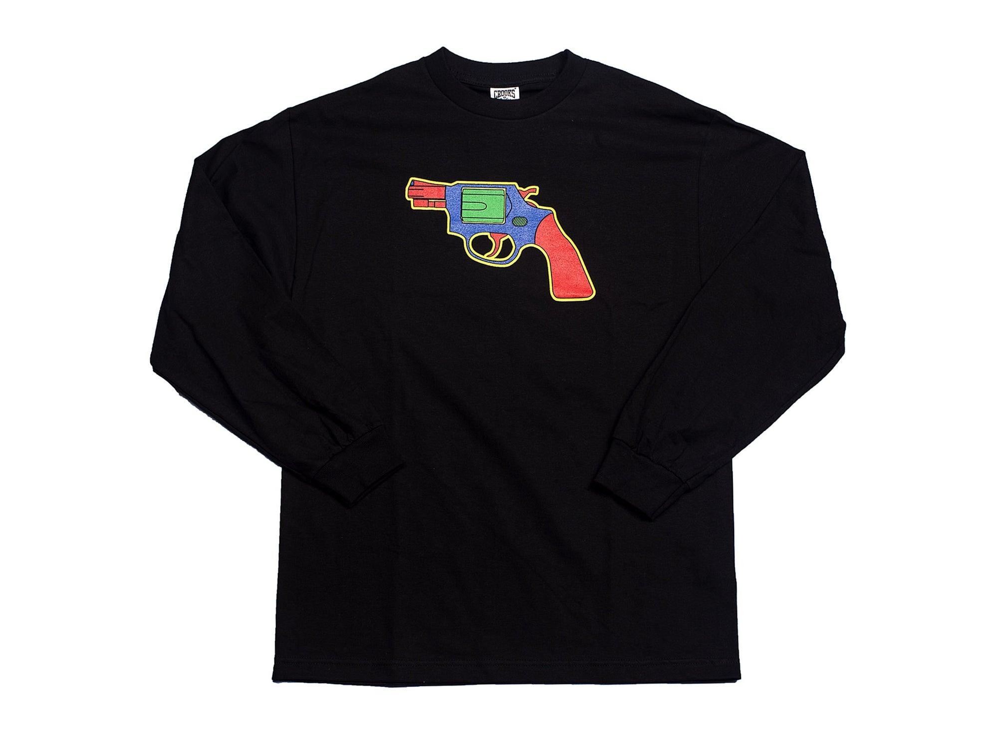 CROOKS & CASTLES M TOY GUN LS TEE