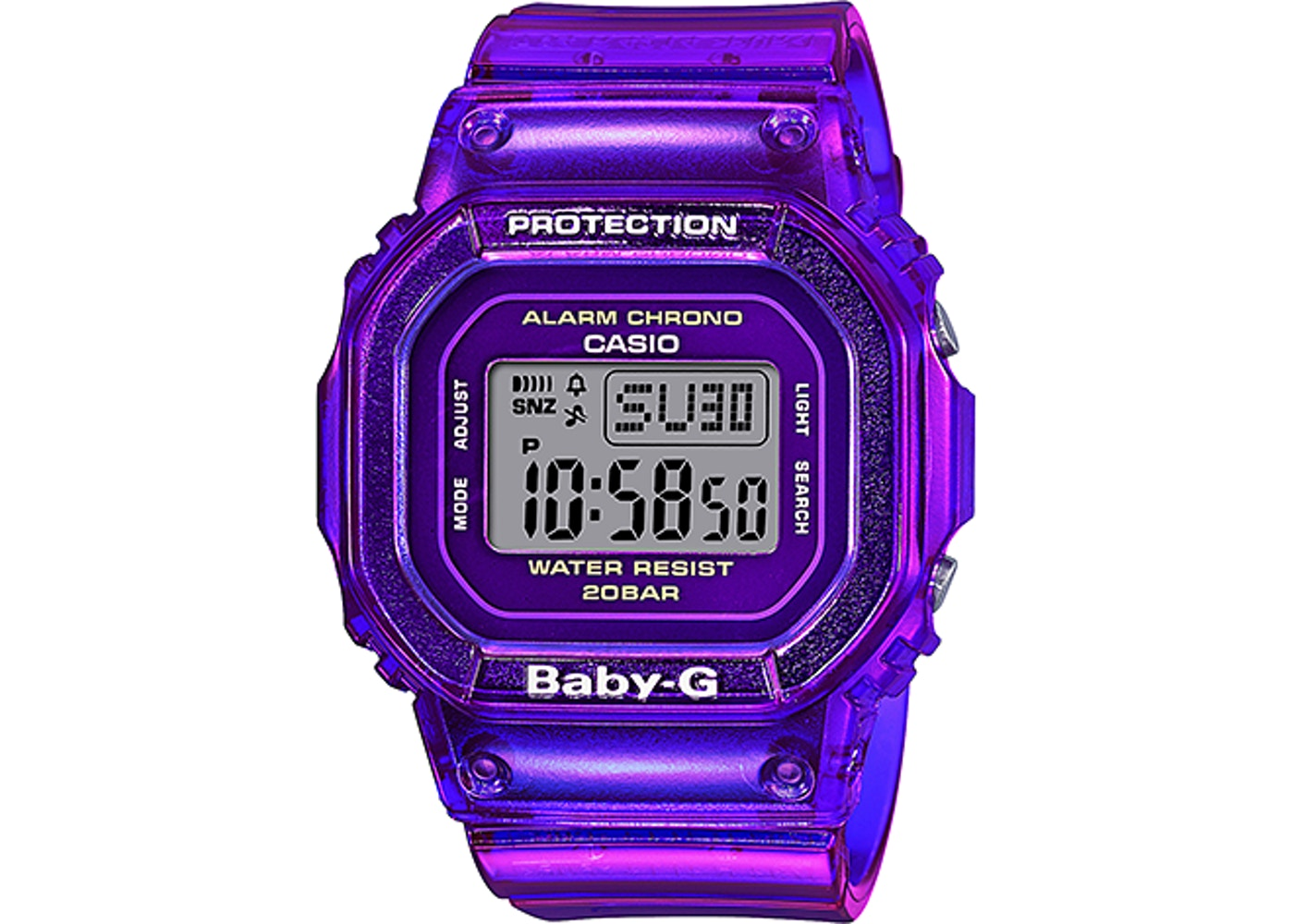 Women's Casio G-SHOCK Baby-G BGD560S-6 Watch