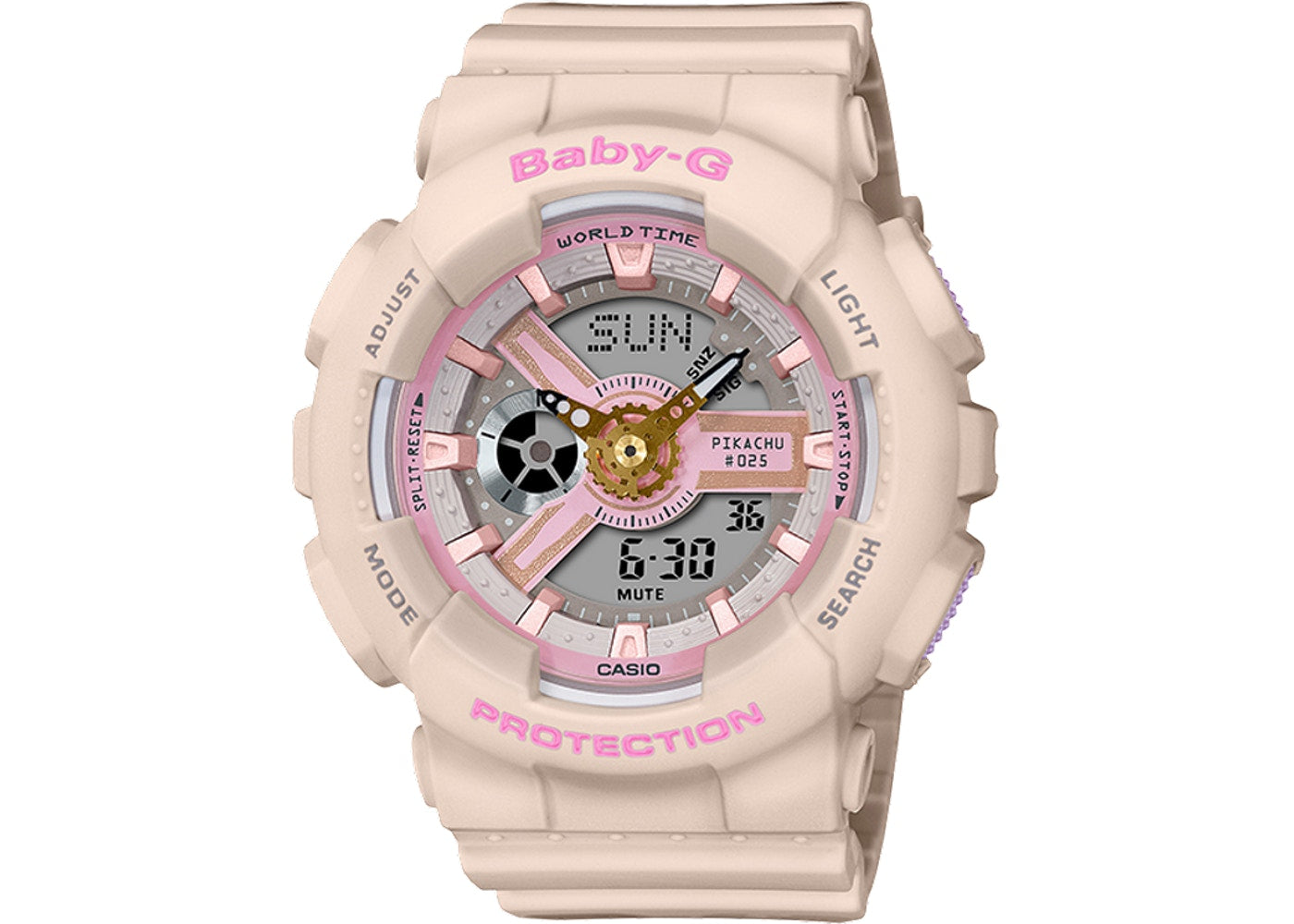 Women's Casio G-Shock BA110PKC-4A Limited Edition Pikachu Watch