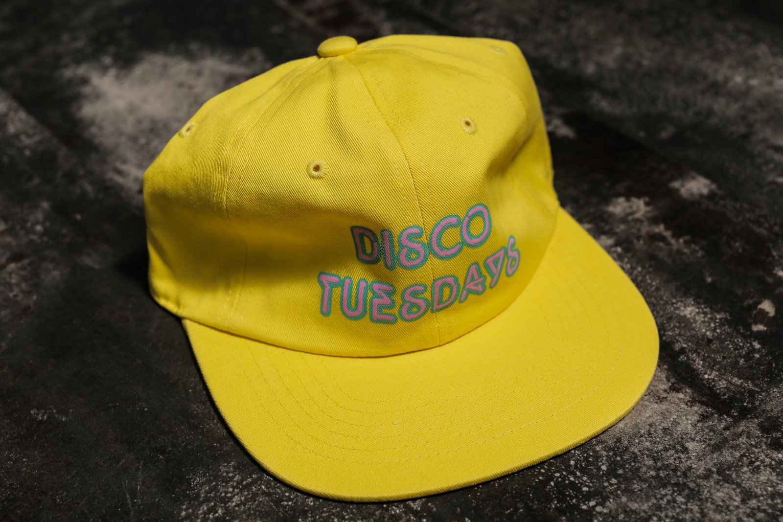 Disco Tuesdays Logo Hat