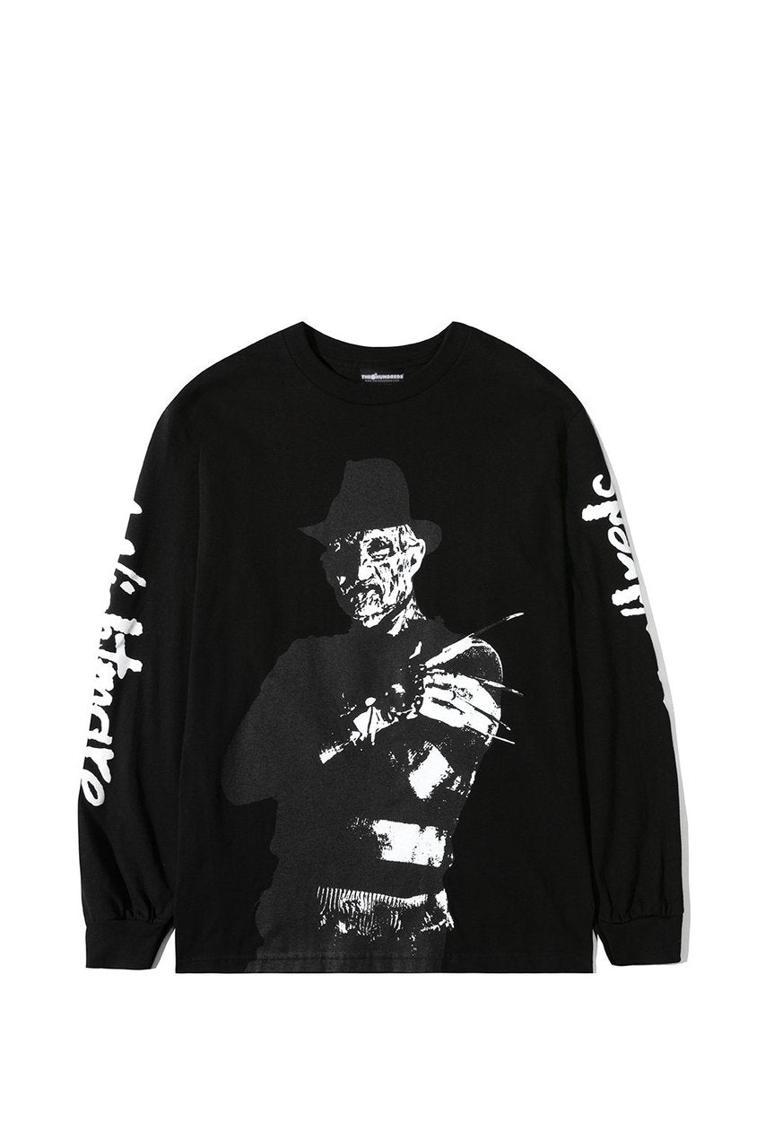 The Hundreds Freddy Long Sleeve in Black xld