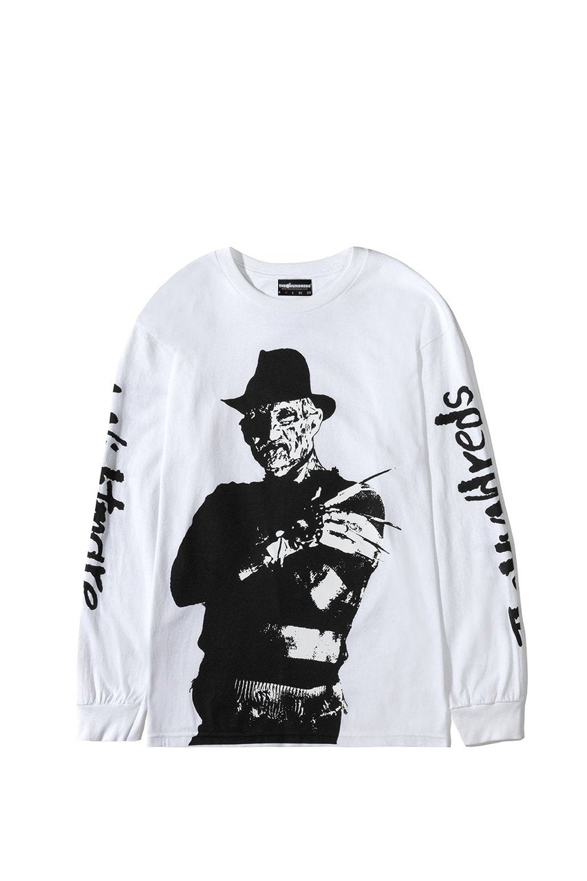 The Hundreds Freddy Long Sleeve in White xld