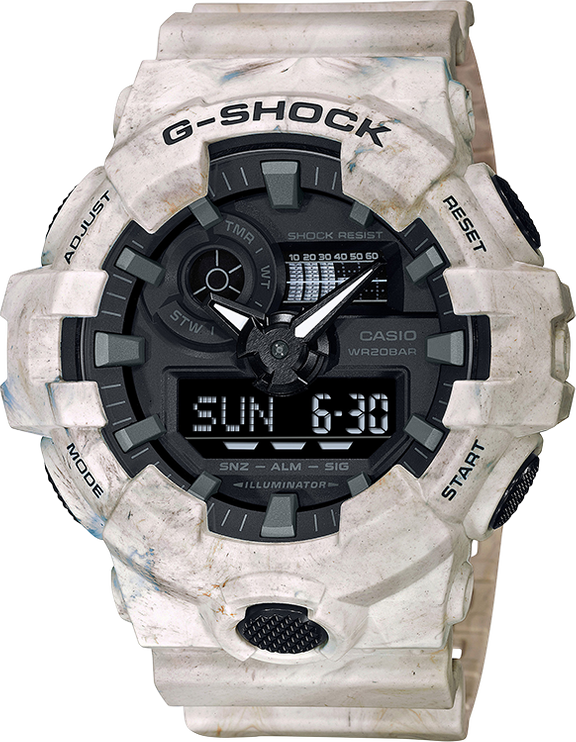 Casio G-Shock GA700WM-5A Analog-Digital Watch