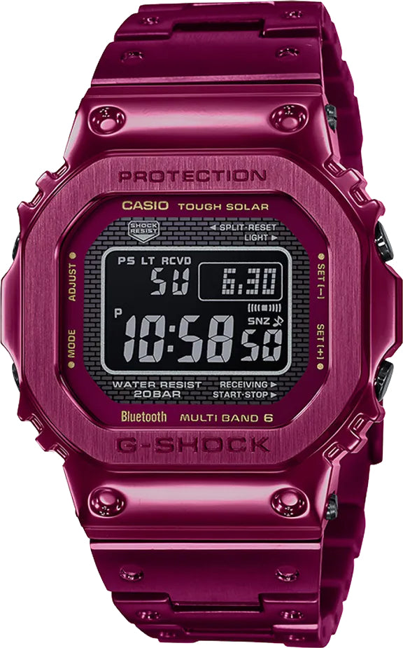 Men's Casio G-Shock GMWB5000RD-4 Digital Watch