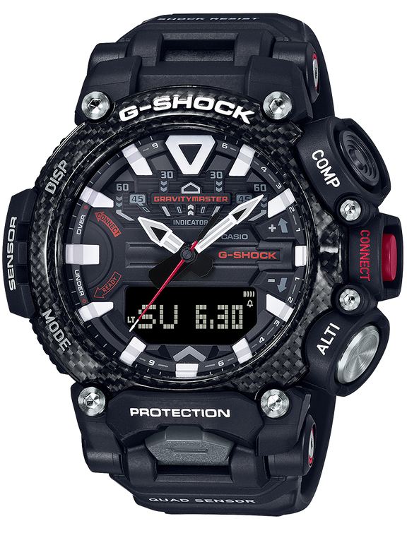 Casio G-Shock GRB200-1A Analog-Digital Watch