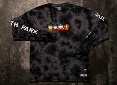 HUF x SOUTH PARK KIDS CRYSTAL WASH L/S TEE
