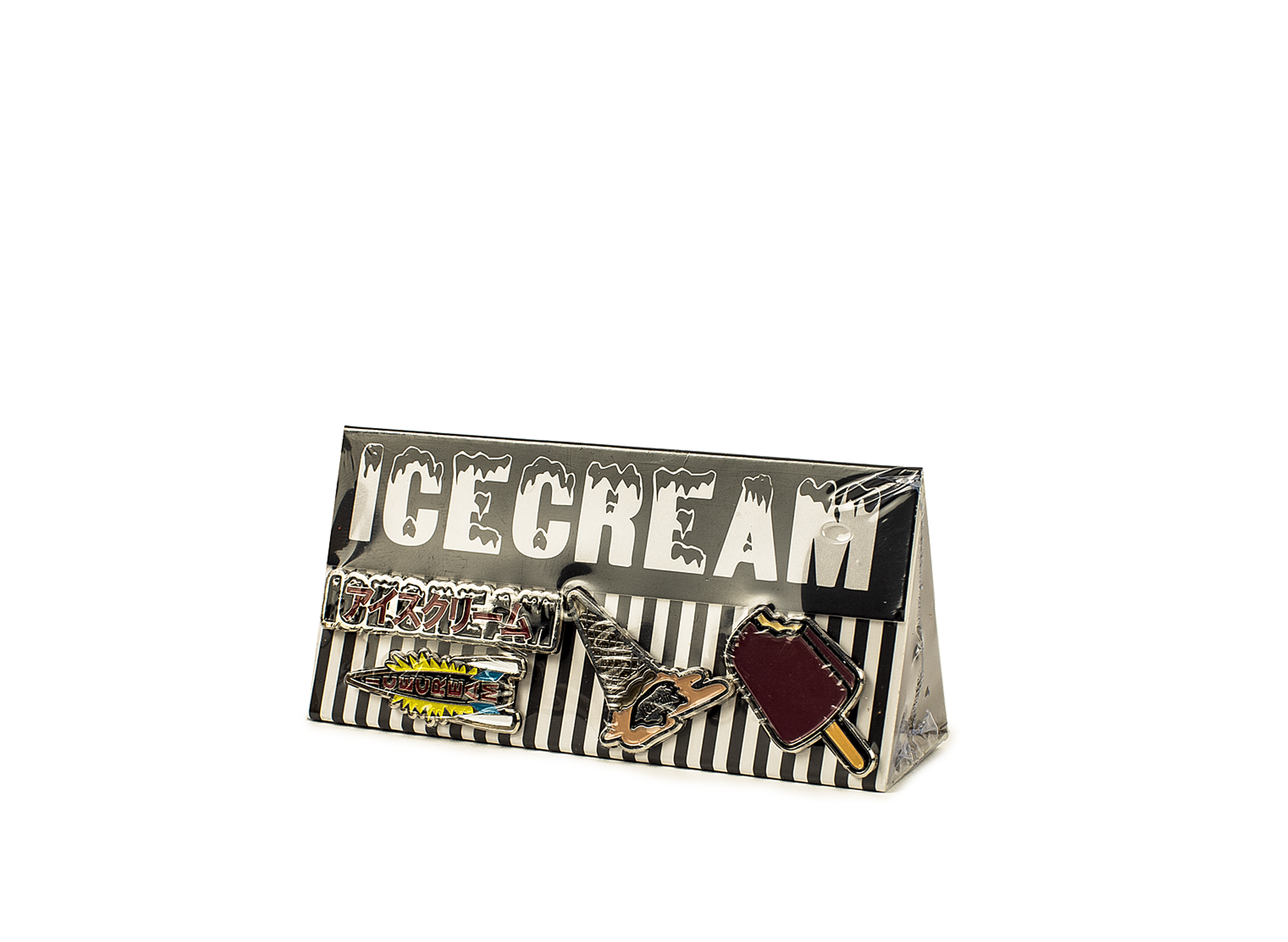 BBC ICE CREAM PIN PACK