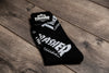 HUF x THRASHER - CREW SOCK (BLACK)
