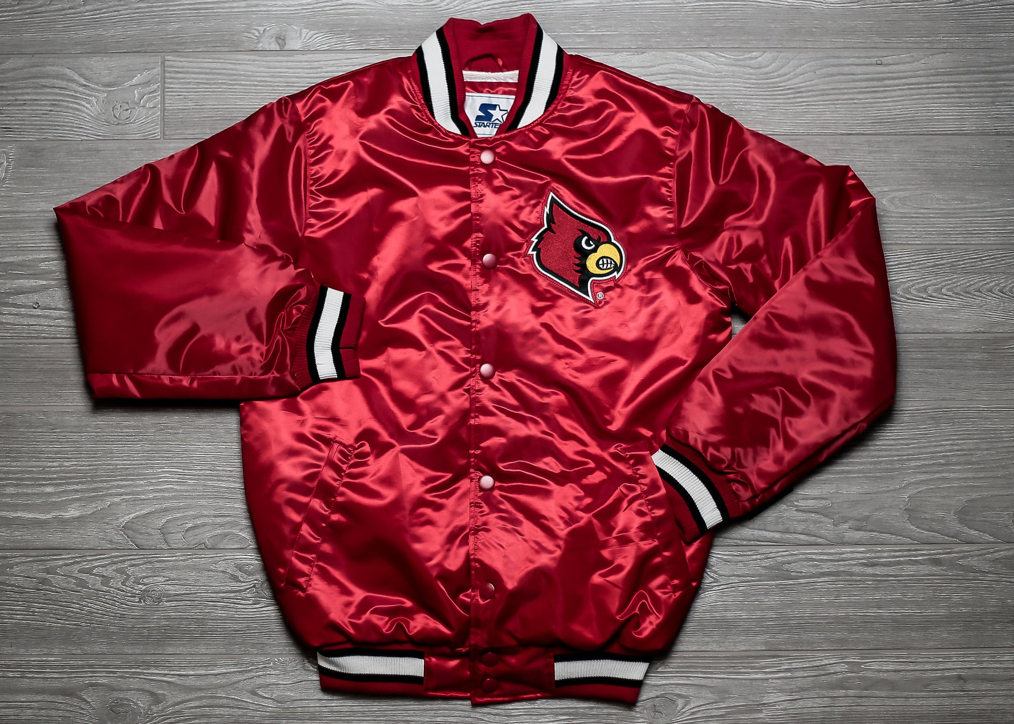 Starter x Oneness University of Louisville Jacket - Red