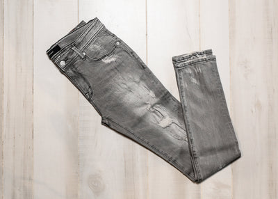 STAMPD - DISTRESSED SKINNY FIT DENIM