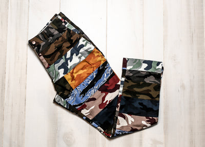 CLOT - BRICK CAMO PANTS