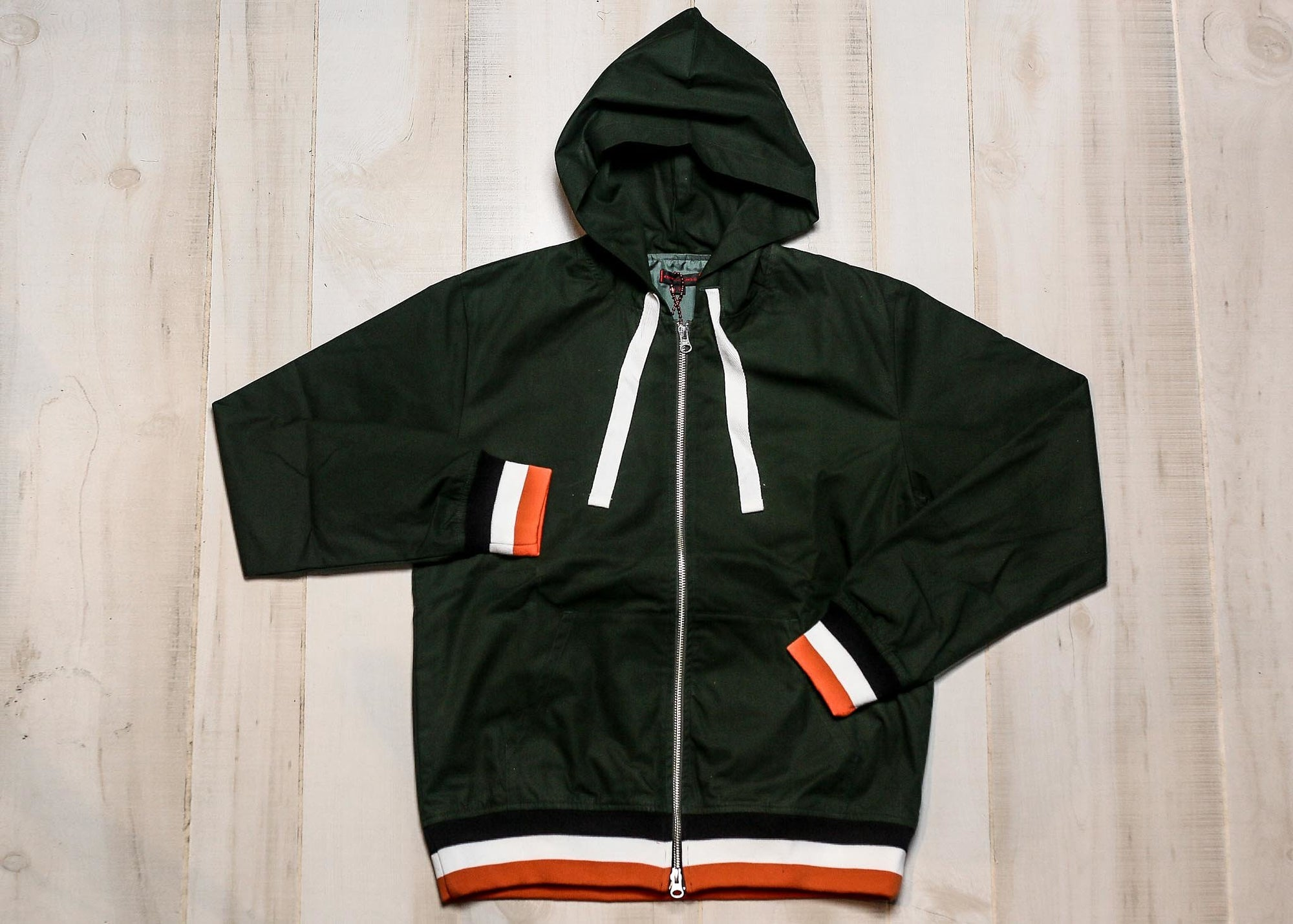 CLOT - MILITARY ZIP UP HOODIE