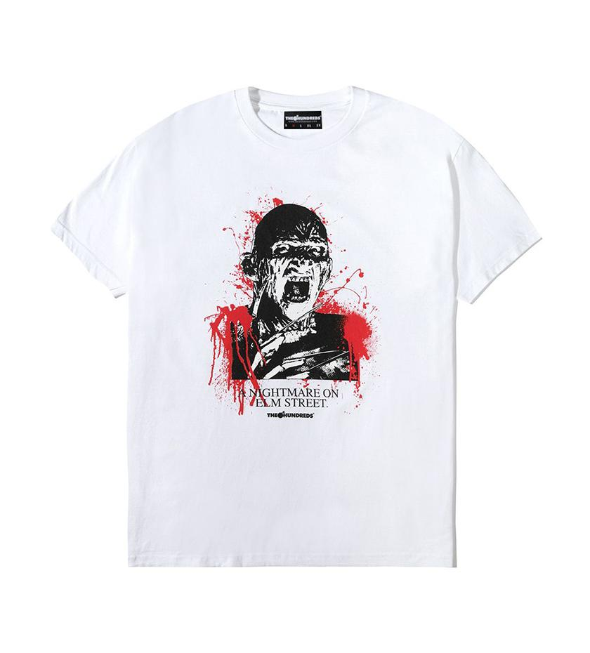 The Hundreds Nightmare T-Shirt in White xld