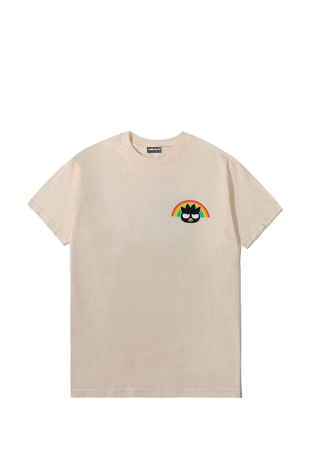 The Hundreds x Sanrio Badtz-Maru T-Shirt in Cream xld