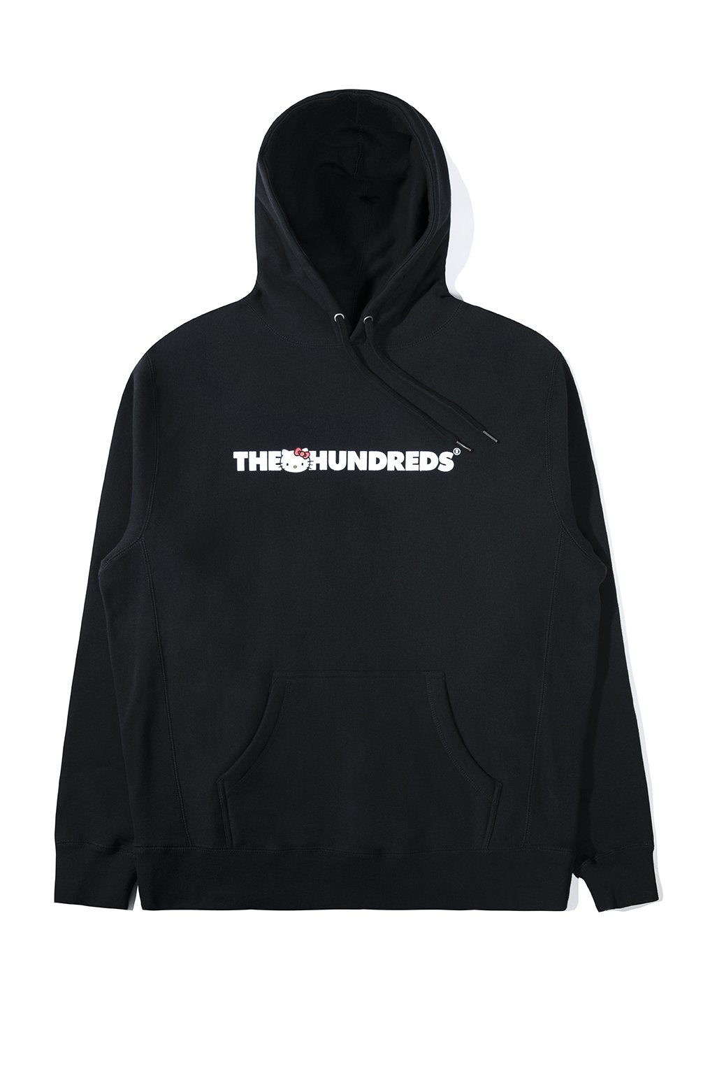 The Hundreds x Sanrio Crew Pullover in Black xld
