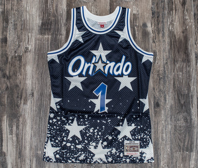 MITCHELL & NESS 4TH OF JULY JERSEY 1994 Magic (Anfernee Hardaway)