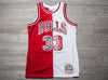 MITCHELL & NESS NBA SWINGMAN SPLIT JERSEY BULLS 97