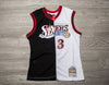 MITCHELL & NESS NBA SWINGMAN SPLIT JERSEY 76ers JERSEY