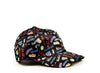 MITCHELL & NESS ALL OVER DAD CAP STRAPBACK